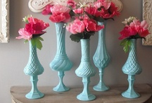 Tiffany Blue & Shabby Chic