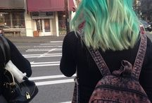 #rainbow hair