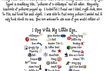 Literacy Sight Words I spy bag