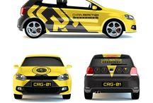 Branding car