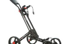 4 Wheel Golf trolley (black Frame)