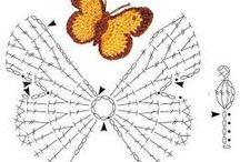 mariposa  de dos colores