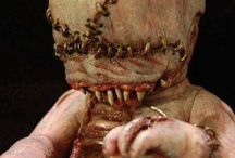 Creepy Evil Doll