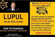 Lupul de pe Wall Street - Conferinta Negociere cu Jordan Belfort (the Real Wolf of Wall Street) / Ai văzut filmul? Acum vino sa il întâlnești LIVE pe JORDAN BELFORT, adevaratul Wolf of Wall Street! Adevaratul Lup de pe Wall Street vine și la Bucuresti in noiembrie 2014. Este o șansă unică de a-l întâlni pe cel mai controversat personaj al Americii, pe cel mai persuasiv om de vânzări al Wall Street-ului, pe cel a cărui viață fascinantă a inspirat un film de Oscar – un om de Oscar.  Inserarea codului AISUCCES îti aduce o economie de 150€! http://bit.ly/RepartitieLocuriLupul