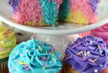 Cakes / Marble cupcakes