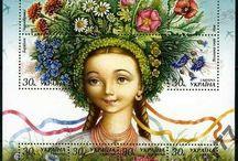 ukrania stamp