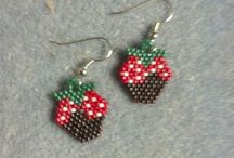 Foodie Earrings / Zero Caloric foods, if you cant eat them then wear them. these are for fun!