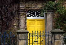 House doors, porches etc
