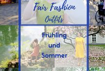 Fair Fashion Outfits / Faire Mode: Outfit Inspiration