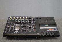 Vintage lo-fi recording gear