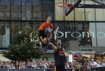 FIBA 3x3 World Tour Prague Masters /  Exciting, urban and innovative, 3x3 is inspired by several forms of streetball played worldwide and is considered the world's number one urban team sport. Steered by FIBA, games see two teams of three players face off on a basketball half-court.