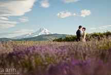 Weddings in Hood River, Oregon / The Columbia Gorge offers some of the best scenery, venues, and opportunities imaginable!