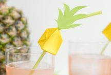 Party {Pineapple Crafts & Ideas} / Trending! Pineapple party and craft ideas are all the rage right now and this board is full of fun inspiration. #pineapple #yellow #crafts #diy  For more ideas http://blog.thecelebrationshoppe.com