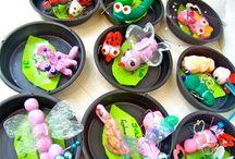 SUCATINHA DE LUXO / Atelie de arte voltado para o publico infantil. Arte e educacao ambiental por meio de atividades ludicas, utilizando na maioria das atividades, materiais reciclaveis
