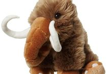 Ice Age Soft Toys / Ice Age and prehistoric animal soft toys