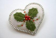 Karácsony / foltvarrás