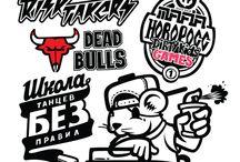 Icons, logos