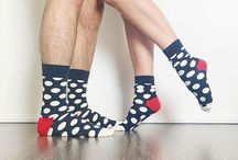 Happy together! / What's better than being happy together?  Well, being happy together and wearing Happy Socks!
