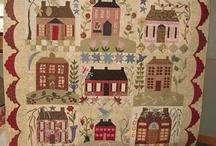 Home sweet home Quilt (Blackbird Designs)