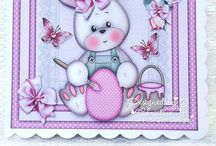 Pink Gem Design Team Inspiration / Paper crafting with Pink Gem Design digital images & designs