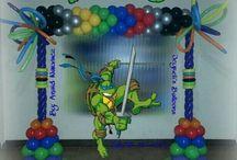 Fiesta De Tortugas Ninja