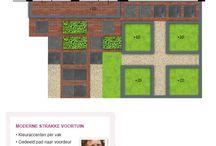 Voorbeelden Tuinontwerp / Hier vind je enkele voorbeelden van tuinontwerpen, gemaakt door de ontwerpers van Tuin voor Groentjes. Wil je als doe-het-zelver ook je eigen droomtuin realiseren, maar kun je wel wat hulp gebruiken om je ideeën te vertalen? Kijk op www.tuinvoorgroentjes.nl en ontdek hoe je met onze formule zélf je droomtuin realiseert met een klein budget.