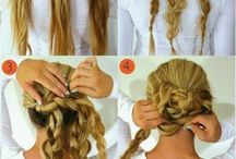Hairdo for straight hair