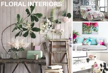 Sophisticated & Subtle Floral Interiors / www.stylehuntercollective.com.au · A comprehensive style directory of designers and on-line boutiques, accessories, hair & beauty stylists, and skincare. Latest trends, what's hot #SHCollective