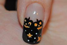 Nails - Halloween  / by kristi Lupkes