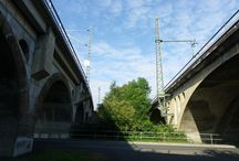 The Bridges of Glauchau (Saxony), Germany