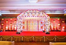 Wedding Stage design from the House of Marriage Colours / Wedding Stage creations from the House of Marriage Colours