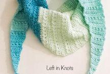 Crochet / knitting pasmina