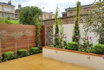 Our Contemporary Gardens / Gardens we have designed which are distinctly contemporary