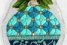 Needlepoint Ornaments