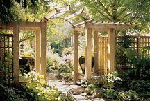 Trädgårdssnickerier