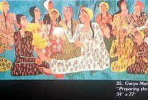 """Catalog: Smithsonian 1975 """"Egyptian Tapestries"""" / Smithsonian """"Egyptian Tapestries"""" Catalog, Wissa Wassef Tapestry Exhibition, USA, 1975"""