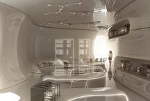 Interior / Hightech interior