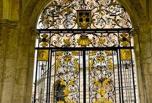 Gates, Arches,Doors,Knobs, & Handles / by Petrina Kovacs