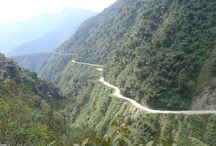 Death Road Bolivia / Biking the Death Road in Bolivia