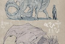 Cool Creatures, Aliens and Monsters