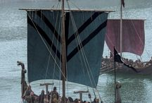 Denmark, Ships, Vikings board