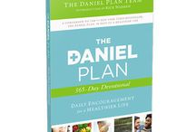 The Daniel Plan 365-Day Devotional / A companion to the #1 New York Times bestseller, The Daniel Plan, this 365-day devotional provides the heartfelt insight you need to take your health to the next level. Feast on something bigger than a fad. Motivational tips, Scripture passages, Food for Thought, and a special note from Rick Warren lead the way to transformation for the long haul.