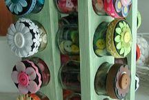 Craft storage / by Lynne Hughes
