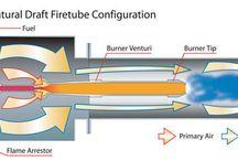 Combustión / Es todo aparato a presión en donde el calor procedente de cualquier fuente de energía se transforma en utilizable, en forma de calorías, a través de un medio de transporte en fase líquida o vapor