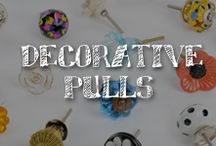 Moore: Decorative Pulls / A.C. Moore is pulling out all the stops to show you inventive new ways to craft with drawer pulls and cabinet knobs.  It's an open-and-shut case of pure inspiration!  / by A.C. Moore Arts & Crafts