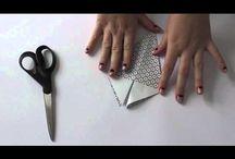 Origami/papir / Alle former for origami og papirarbejde