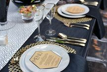Stunning Charger Plates / One of our favorite wedding trends is including charger plates in your wedding decor. With so many styles, colors and materials to choose from, there is certain to be a charger to fit your wedding style.