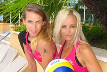 Sport Motivation Movement Freedom / Made from love for sports and beach volleyball