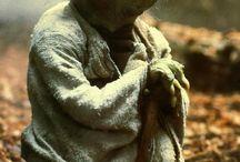 Yoda and star wars friends