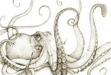 tattoo poulpe / Tatouage
